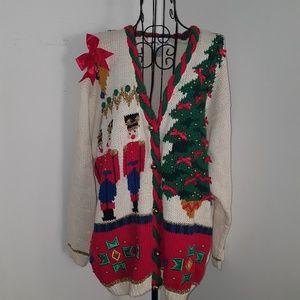 Casual corner vintage Christmas sweater